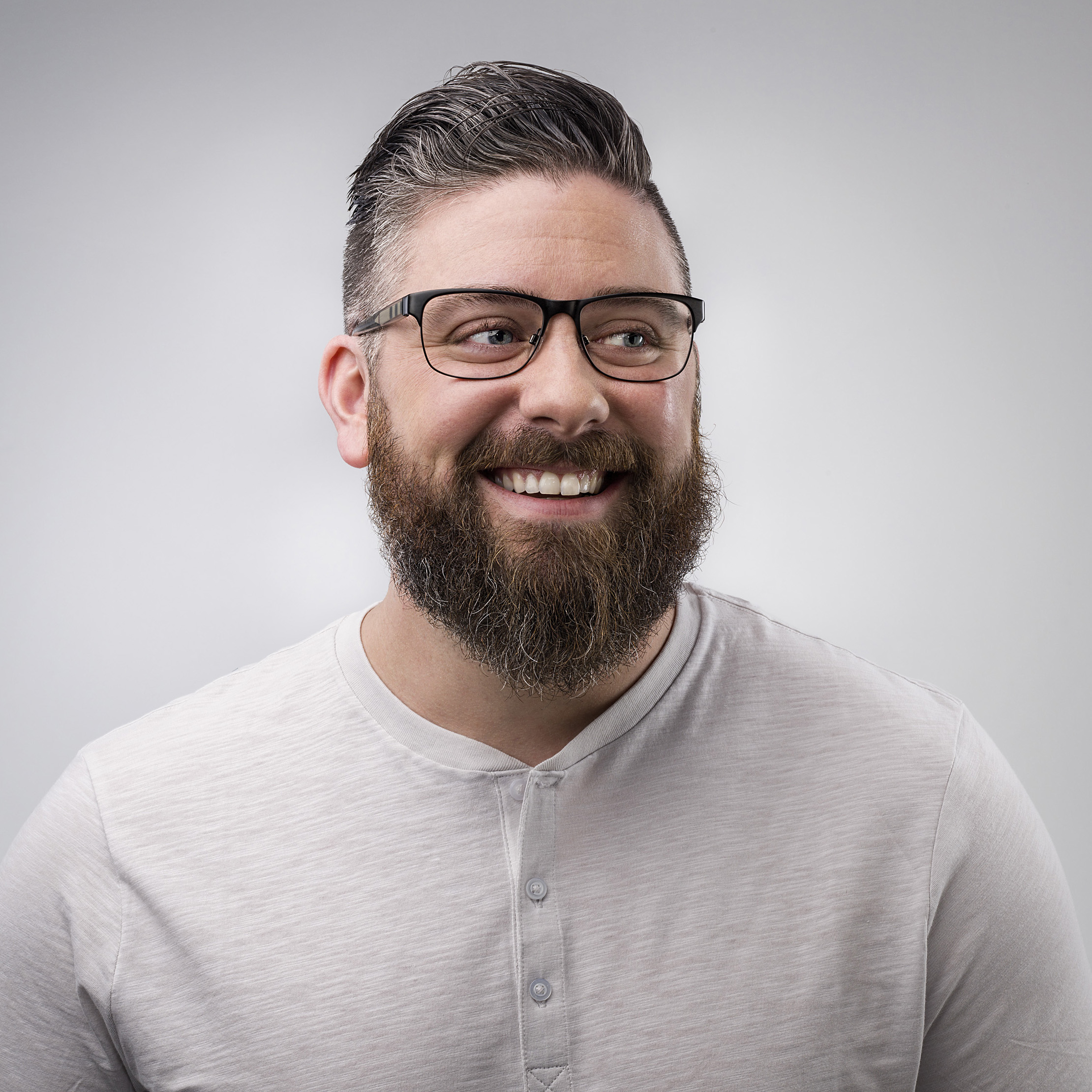 bearded and glasses